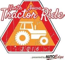 North Iowa Tractor Ride