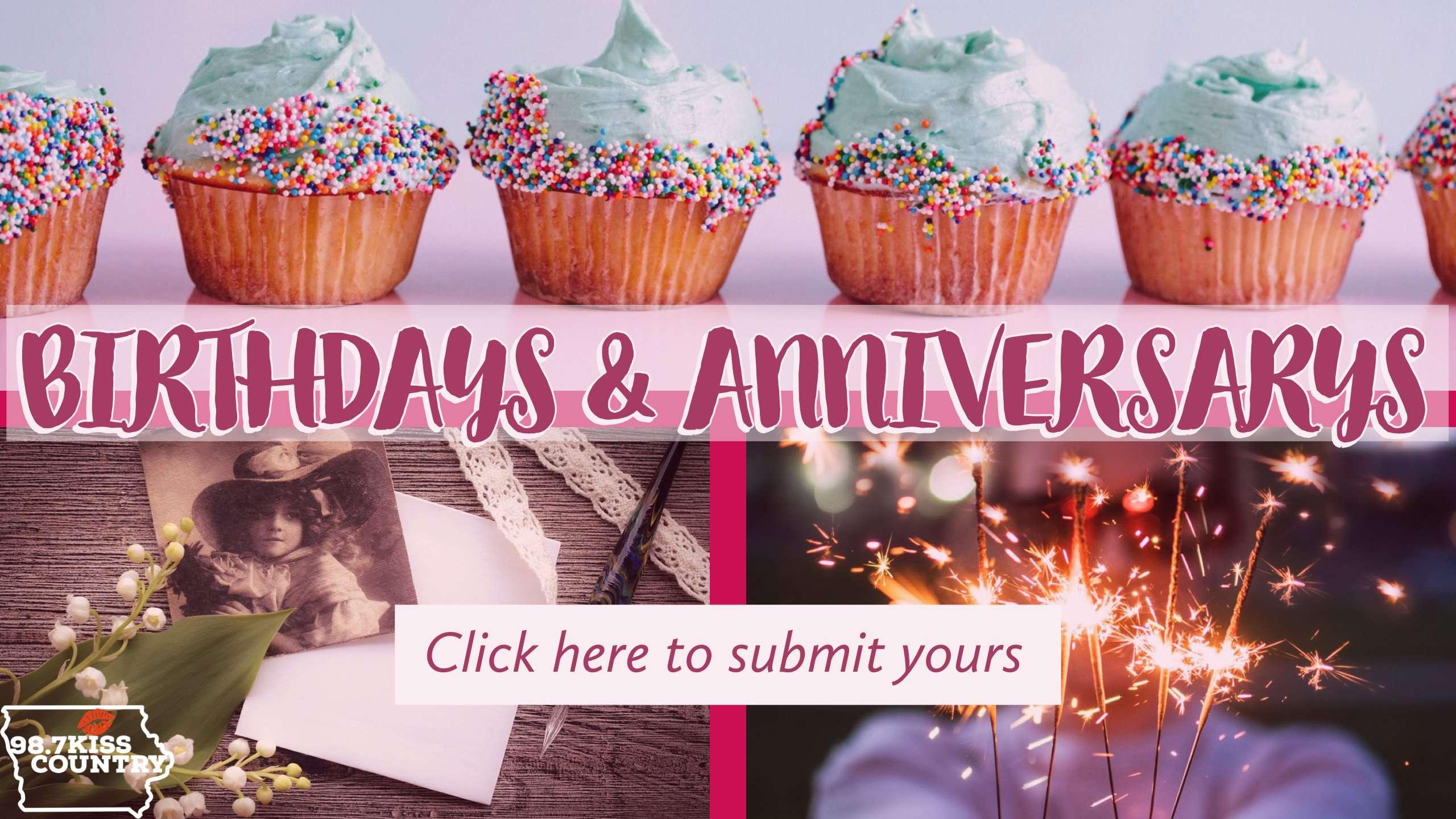 Birthdays & Anniversary