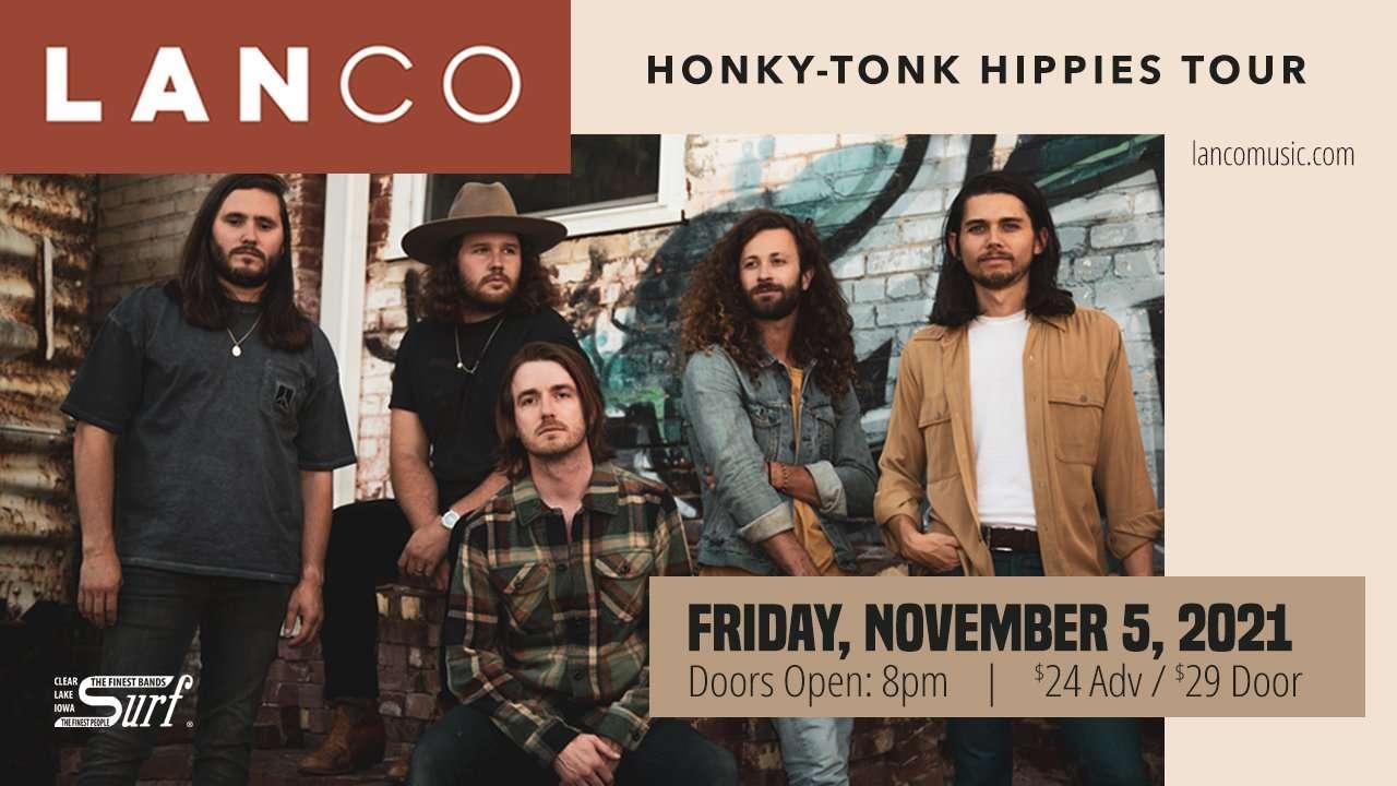 LANCO -Surf Ballroom Nov. 5th