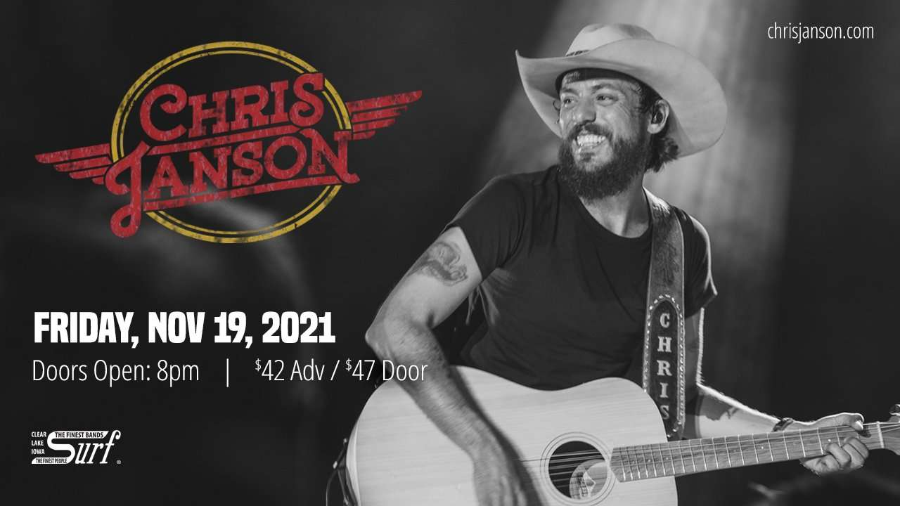 Chris Janson – Friday Nov. 19th